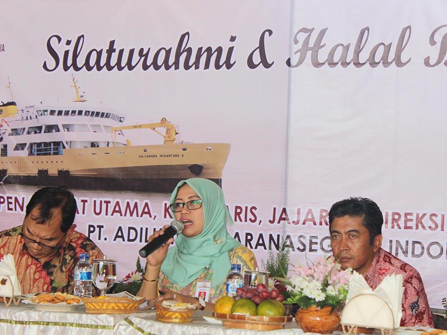 HALAL BIHALAL PT. ADILUHUNG SARANASEGARA INDONESIA