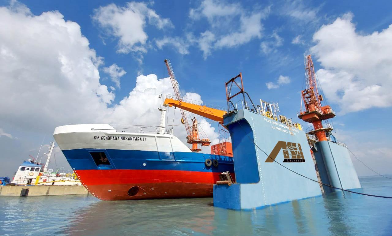 Annual Docking Kapal Tol Laut KM.Kendhaga Nusantara 11