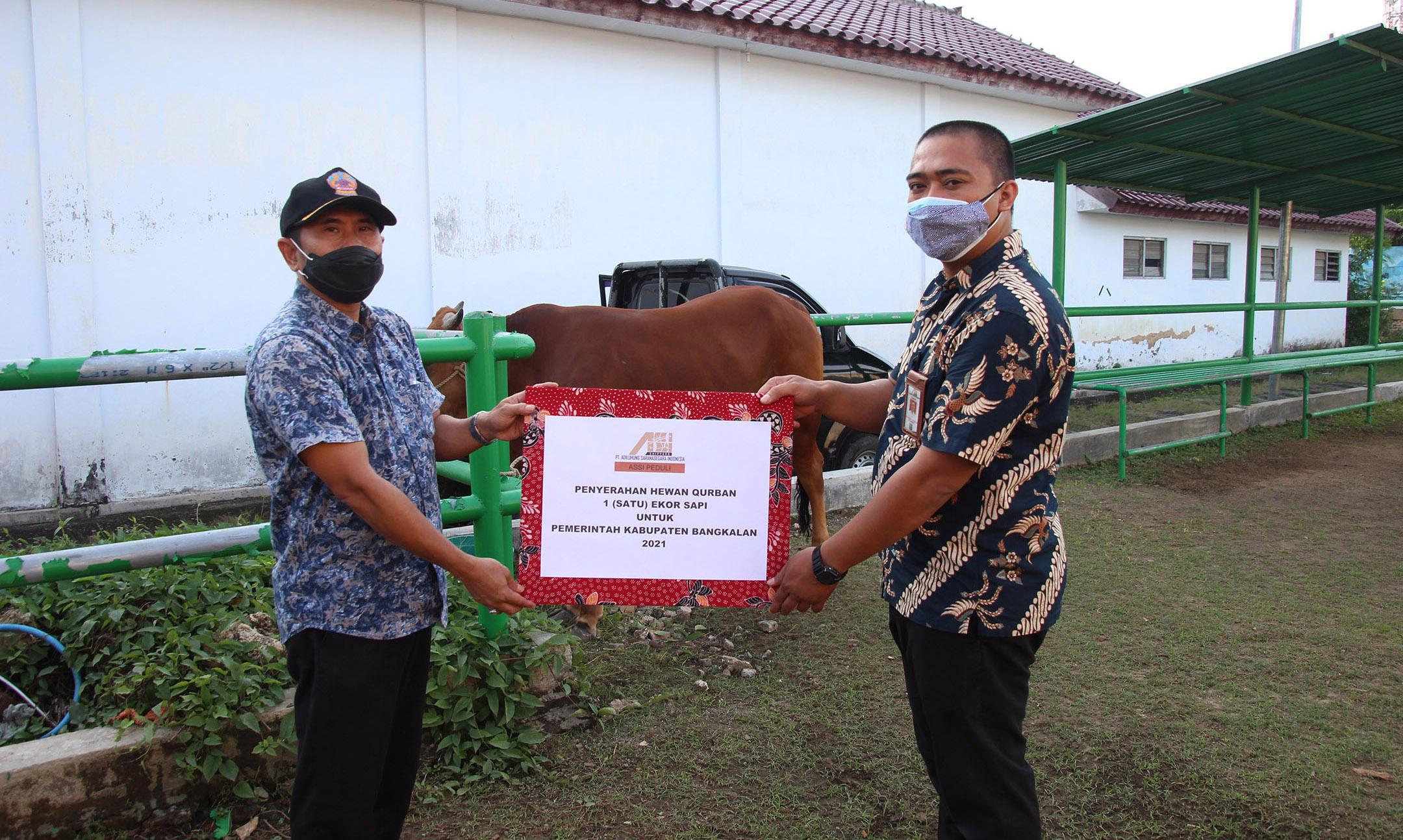 KELUARGA BESAR PT. ADILUHUNG SARANASEGARA INDONESIA MEMPERINGATI HARI RAYA IDUL ADHA 1442 H